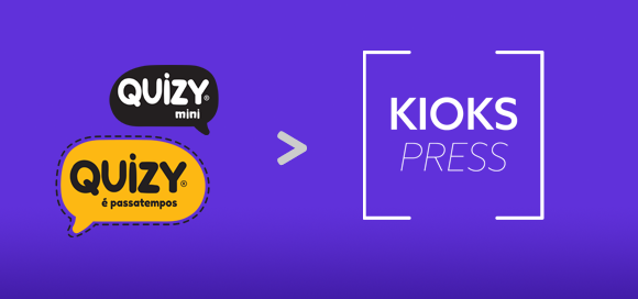 Quizy presente no Kiosk Press